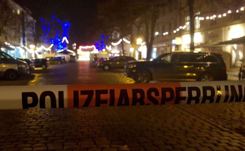 Suspicious Package Found At GermanMarket