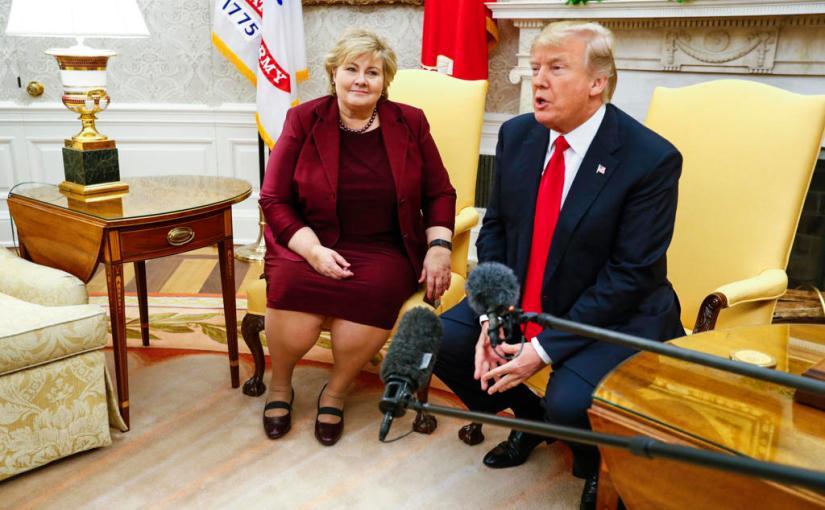 Trump and Norwegian Prime Minister Meeting Summarised: 'Trump Is Doing VeryWell'