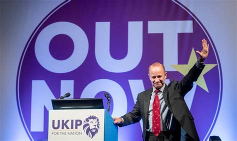 """UKIP Leader Claims """"Party Is Probably Over"""" If ForcedOut"""