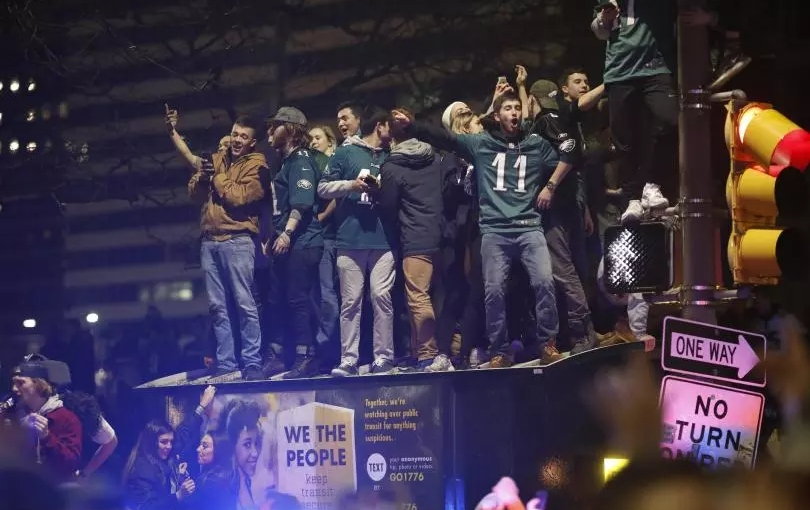 Riots Ensue After Philadelphia Eagles Win SuperBowl
