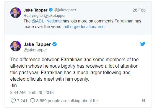 Jake Tapper Tweet