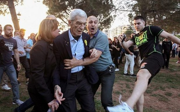 Greek Mayor attacked by citizens for supporting multiculturalism