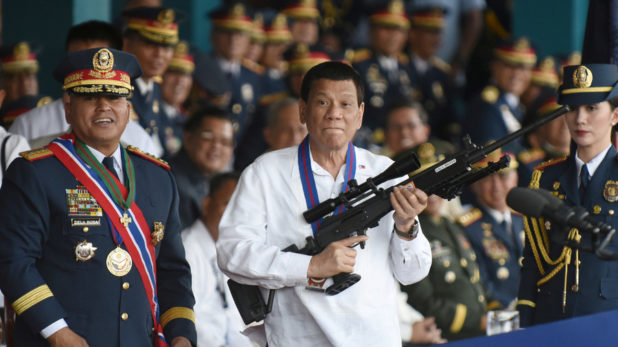 Philippines: Duterte Giving Out 42,000 Guns to Kill DrugDealers