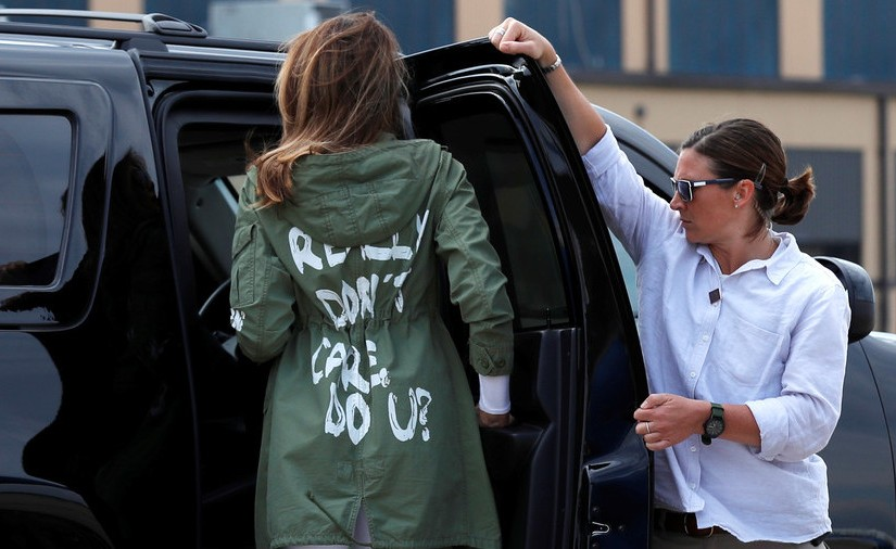 Melania Trump doesn't care. And why you shouldn't aswell: