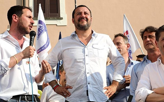 "Italy: Salvini tells EU to ""defend its border from African migrants"""