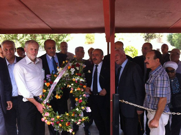 Jeremy Corbyn Pictured Commemorating Palestinian Terrorists in Tunisia Responsible for Assassinating the Jordanian PM and 11 IsraeliAthletes