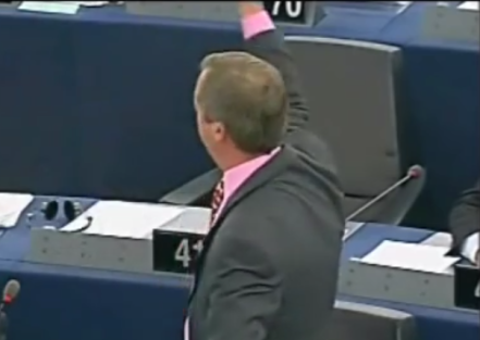 """I want you all fired,"" he declared to the EP in 2011."