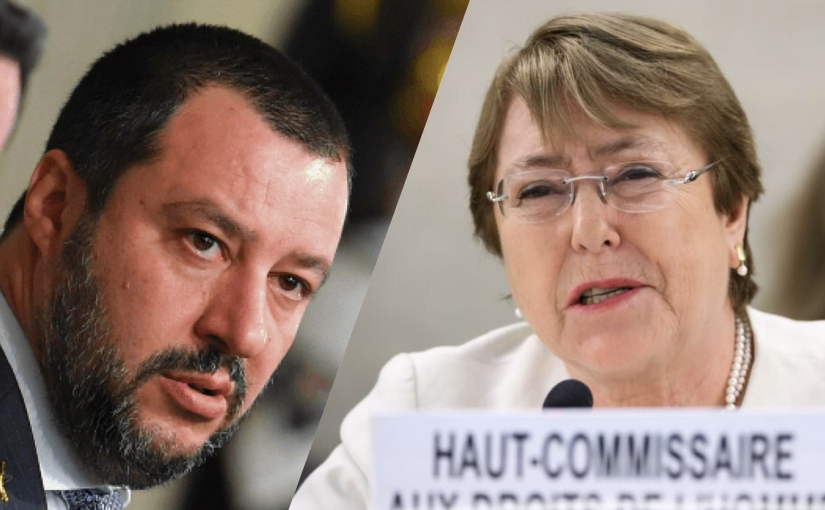 UN Human Rights Chief Sending Investigators to Italy for 'Anti-Migrant Racism', Salvini Responds