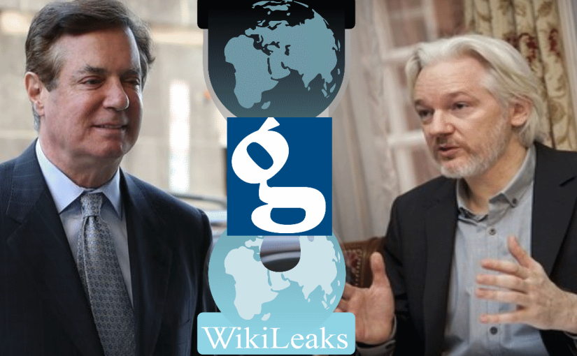 Wikileaks Prepares to Sue The Guardian for Fabricating Assange-Manafort MeetingsStory