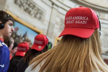 The left is obsessed with MAGAhats