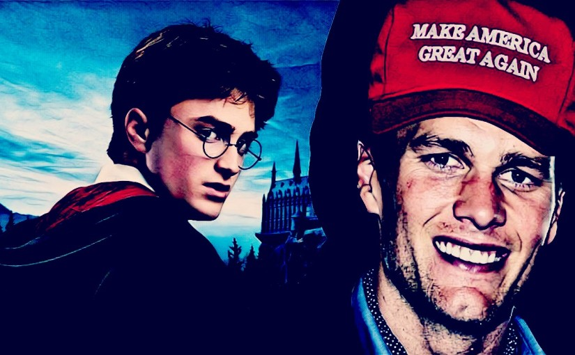 Harry Potter actor hates on Tom Brady for his MAGA hat andsuccess