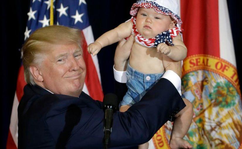 Donald Trump                  'Make America BirthAgain'