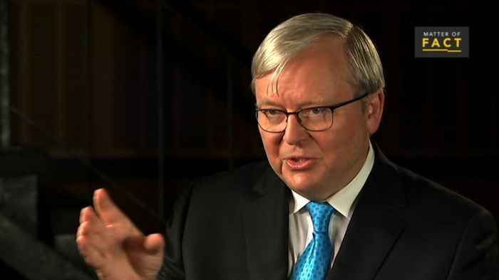 """FORMER AUSSIE PM RUDD: UK trading with the Commonwealth to make up for leaving the EU is """"utterbollockS"""""""