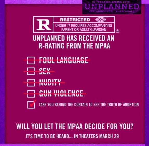 Witness Accounts Conflict With Planned Parenthood: Media Black Out: Pro-Life Movie 'Unplanned' Exposes