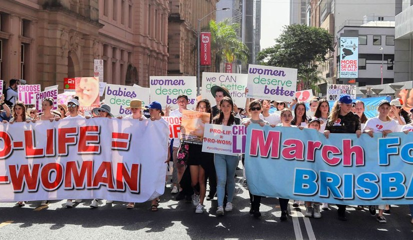 "Australian Labor Party's ""extreme abortion plans this election"""